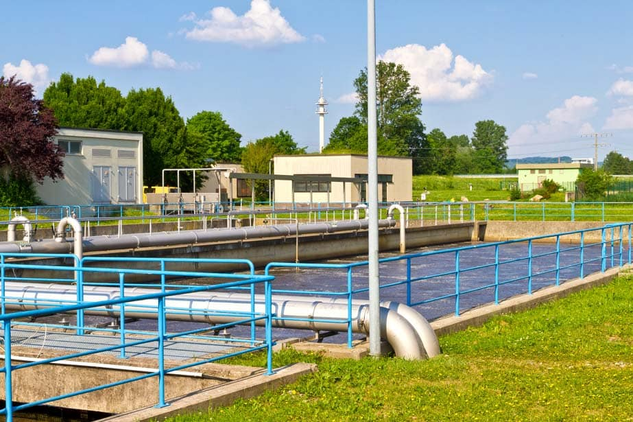 Picture of water treatment centre