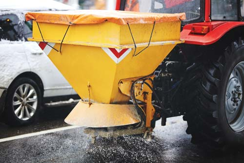 Our Tractor Gritter